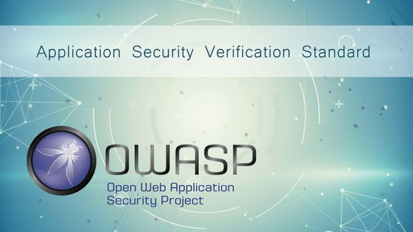 Application Security with OWASP ASVS